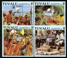 Tuvalu 1988 10th Anniversary Of Independence - SPECIMEN - MS Set MNH (SG MS544) - Tuvalu