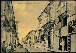 AVOLA (SIRACUSA) CORSO VITTORIO EMANUELE - ANIMATA & CINEMA 1961 - Siracusa