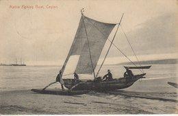 CEYLON NATIVE FISHING BOAT - Sri Lanka (Ceylon)
