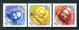 Tuvalu 1988 Christmas - SPECIMEN - Set MNH (SG 545-547) - Tuvalu