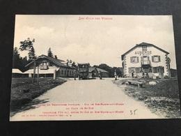 Cpa 1900/1920 Le Col De Sainte Marie Aux Mines Frontière Automobile Auberge - France