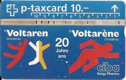 Switzerland: PTT P - KP-94 411L Ciba Geigy Pharma, Voltarène - Zwitserland
