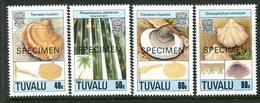 Tuvalu 1989 Fungi - 2nd Issue - SPECIMEN - Set MNH (SG 554-557) - Tuvalu