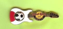 Pin's Hard Rock Café Tokyo Football Guitare (Ballon Tourne) - HRC52 - Musique