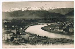 Q647 - Grenoble - Les Alpes Et L'ile Verte - Grenoble