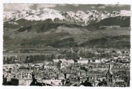 Q645 - Grenoble - Vue Générale Et La Chaine De Belledonne - Grenoble