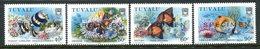 Tuvalu 1989 Coral Reef Life - 3rd Issue - SPECIMEN - Set MNH (SG 558-561) - Tuvalu