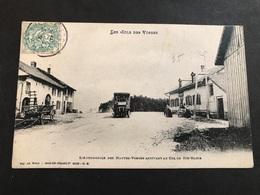 Cpa 1900/1920 L'automobile Arrivant Au Col De Sainte Marie Aux Mines - France
