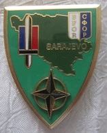 Insigne Militaire Delsart SFOR Sarajevo - Heer