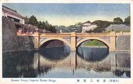 Japan  日本   Greater Tokyo Imperial Double Bridge    M 3044 - Tokyo