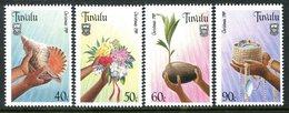 Tuvalu 1989 Christmas Set MNH (SG 564-567) - Tuvalu