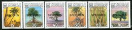 Tuvalu 1990 Tropical Trees - SPECIMEN - Set MNH (SG 568-573) - Tuvalu