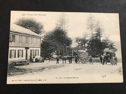Cpa 1900/1920 Col De Sainte Marie Aux Mines Calèche Eaux Gazeuses Haas Lauly - France