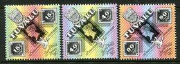 Tuvalu 1990 150th Anniversary Of The Penny Black Set MNH (SG 574-576) - Tuvalu