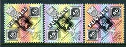 Tuvalu 1990 150th Anniversary Of The Penny Black - SPECIMEN - Set MNH (SG 574-576) - Tuvalu