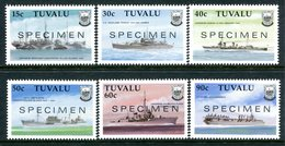 Tuvalu 1990 Second World War Ships - 1st Issue - SPECIMEN - Set MNH (SG 578-583) - Tuvalu