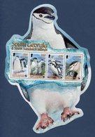 Georgie Du Sud - Bloc - WWF - Penguin - Manchots - Neuf Sans Charnière - 2008 - Géorgie Du Sud