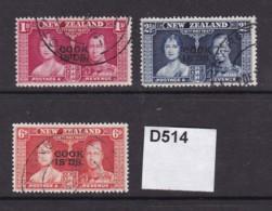 Cook Islands 1937 Coronation - Cookinseln