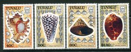 Tuvalu 1991 Sea Shells Set MNH (SG 597-600) - Tuvalu
