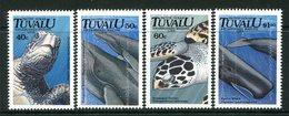 Tuvalu 1991 Endangered Marine Life Set MNH (SG 605-608) - Tuvalu