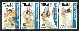Tuvalu 1991 Ninth South Pacific Games Set MNH (SG 609-612) - Tuvalu