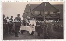 Obeliai, Rokiškis, Obelių šaulių Namų šventinimas, A1937 M. Foto. - Litouwen