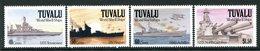 Tuvalu 1991 Second World War Ships - 2nd Issue - Set MNH (SG 613-616) - Tuvalu (fr. Elliceinseln)
