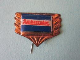 Ambassador Pin Lapel Button Badge - Moto Motor Motorcycle Motorbike Motard Logo - Motorfietsen