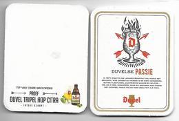 SOUS BOCK / 34  - DUVEL TRIPEL HOP CITRA - Bierdeckel