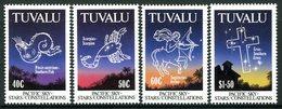Tuvalu 1992 Pacific Star Constellations Set MNH (SG 621-624) - Tuvalu