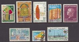 Tunisia - Roads, Castle La Skifa Mahdia, Costume De Mariage Djerba, Moknine, Korbous Coastal View, Sfax - Used - Tunesien (1956-...)