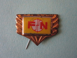 FN Moto Pin Lapel Button Badge - Motor Motorcycle Motorbike Motard Logo - Motorfietsen