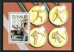 Tuvalu 1992 Olympic Games, Barcelona MS MNH (SG MS651) - Tuvalu