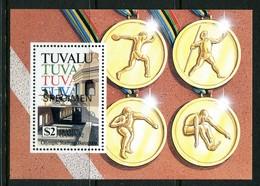Tuvalu 1992 Olympic Games, Barcelona - SPECIMEN - MS MNH (SG MS651) - Tuvalu