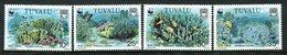 Tuvalu 1992 Endangered Species - Blue Coral Set MNH (SG 652-655) - Tuvalu