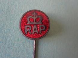 RAP Vélomoteur Pin Lapel Button Badge - Moto Motor Motorcycle Motorbike Motard - Motorfietsen