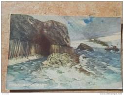 Amérique / ETATS UNIS / -FINGALLS CAVE STAFFA ( Carte Du Service De Publicité De La Compagnie Océan ) Bateau - Mammoth Cave