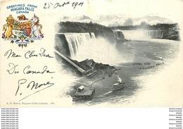 WW CANADA. Greetings From Niagara Falls 1901. Etat Impeccable - Chutes Du Niagara