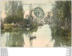 89 VERMENTON. Rameur Sur La Cure 1906 - Vermenton