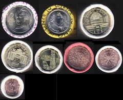 Komplette Kursmünzen 2020 Direkt Aus Der Rolle - Autriche