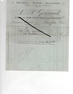 85 - Vendée - FONTENAY-LE-COMTE - Facture GOURAUD - Imprimerie - 1910 - REF 287 - France