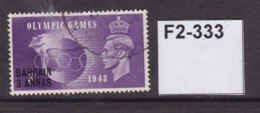 Bahrain 1948 Olympic Games 3a On 3d - Bahrein (...-1965)