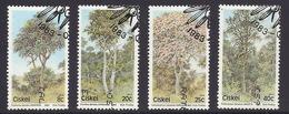 Ciskei - 1983 Flora, Trees - (Complete Series Of 4) Used - Ciskei