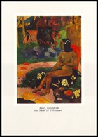 HER NAME IS VAЇRAUMATI. Painting By PAUL GAUGUIN (1892). Unused Postcard - USSR, 1982 - Tahiti