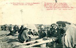 N°9060 -cpa Foire De Lessay (Manche) -tonneaux De Cidre Avec Enseringes- - Ferias