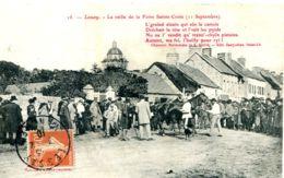 N°9062 -cpa Foire De Lessay (Manche) -la Veille De La Foire Sainte Croix- - Ferias