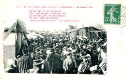 N°9064 -cpa Foire De Lessay (Manche) -la Grande Rue- - Ferias