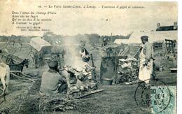 N°9066 -cpa Foire De Lessay (Manche) -tournous De Gigot Et Cuisiniers- - Ferias