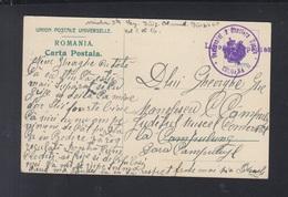 Rumänien Romania AK Busteni Gara Regimentul 2 Obuziere Usoare Liber De Expediere - Briefe U. Dokumente