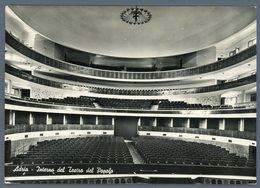 °°° Cartolina - Adria Interno Del Teatro Del Popolo Viaggiata °°° - Rovigo